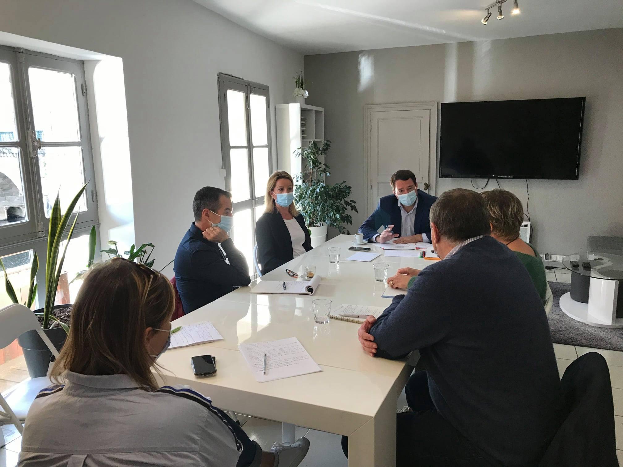 associations de commerçants Cœur de Castres et l'association des commerçants de Mazamet.