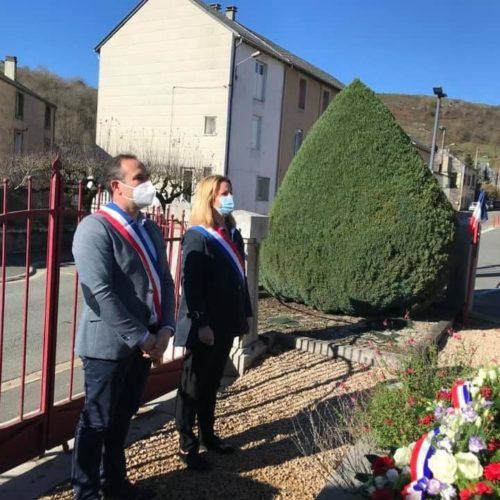 Commémoration 11 novembre à Murat sur Vèbre