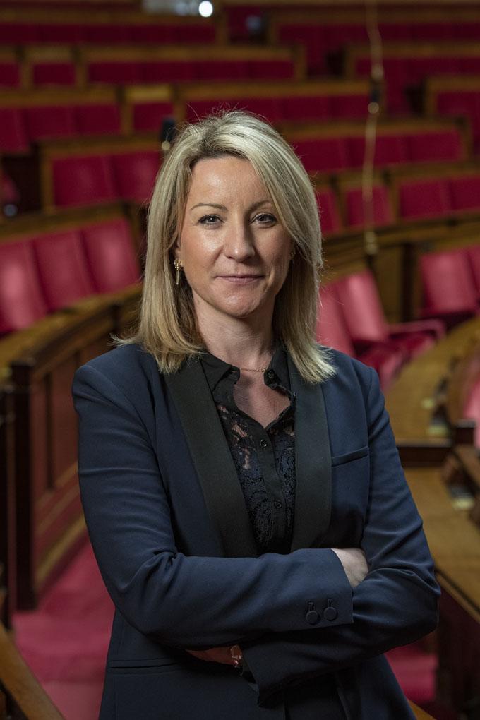 Muriel Roques-Etienne, députée de la première circonscription du Tarn