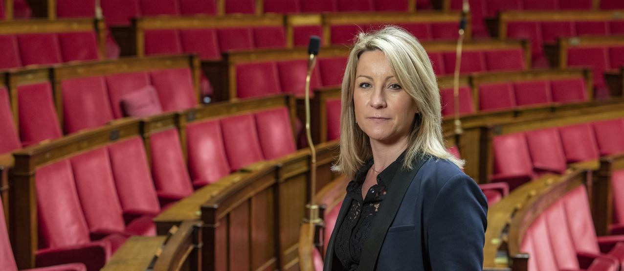 16 décembre 2020, Muriel Roques Etienne, députée de la première circonscription du Tarn à l'Assemblée nationale