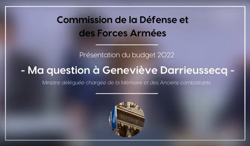 Commission de la Défense et des Forces Armées